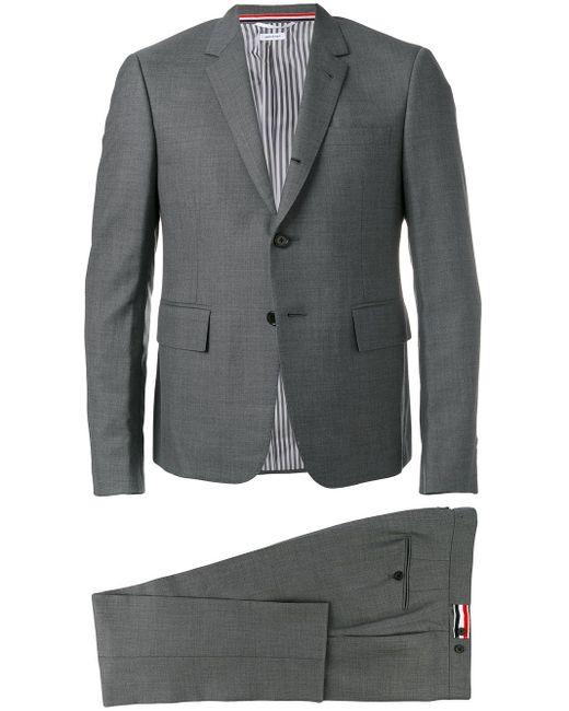 メンズ Thom Browne ツーピース ウールスーツ Gray