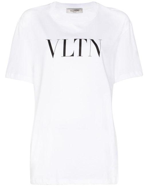 Valentino ホワイト Vltn T シャツ White