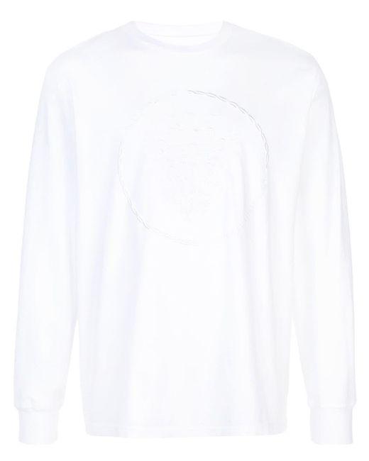 メンズ Supreme エンブロイダリー Tシャツ White