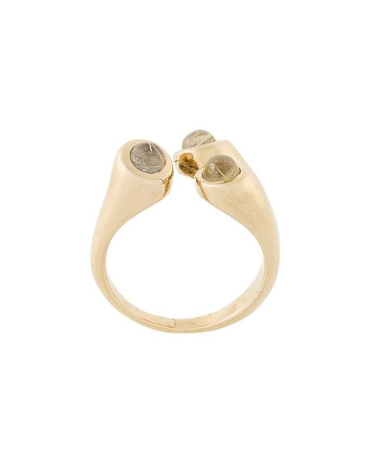 Pamela Love - Metallic Aorta Rutilated Quartz Ring - Lyst