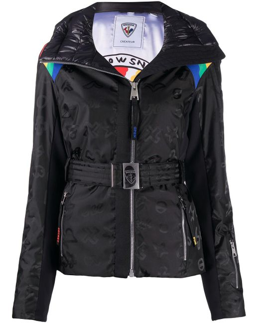 Rossignol Rainbow ジップアップ スキージャケット Black