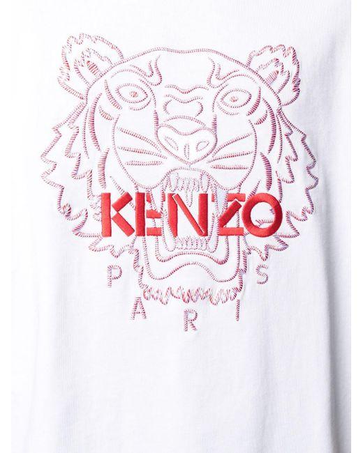 メンズ KENZO Chinese Year Capsule Tiger Tシャツ White