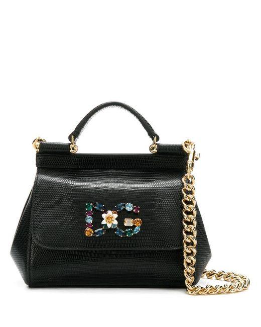 Dolce & Gabbana Sicily ハンドバッグ ミニ Black