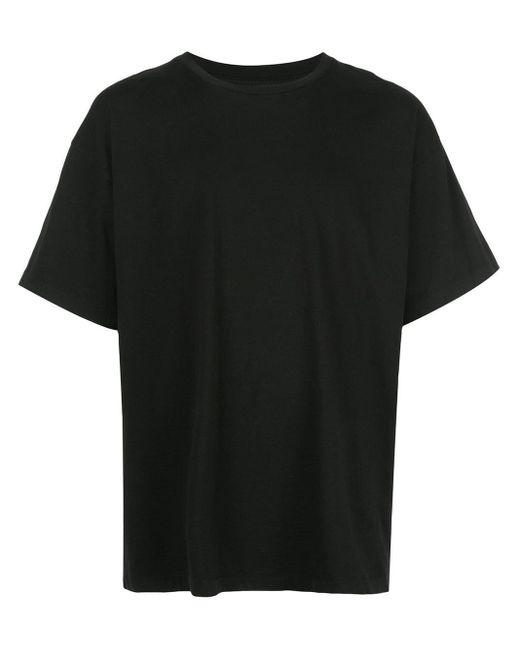 メンズ John Elliott オーバーサイズ Tシャツ Black