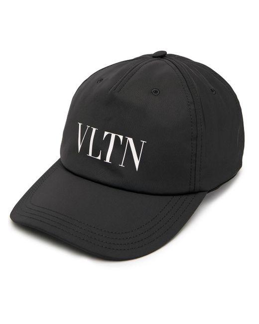 メンズ Valentino Valentino Garavani Vltn キャップ Black