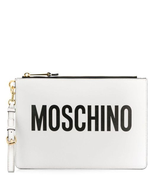 Moschino ロゴ クラッチバッグ Multicolor