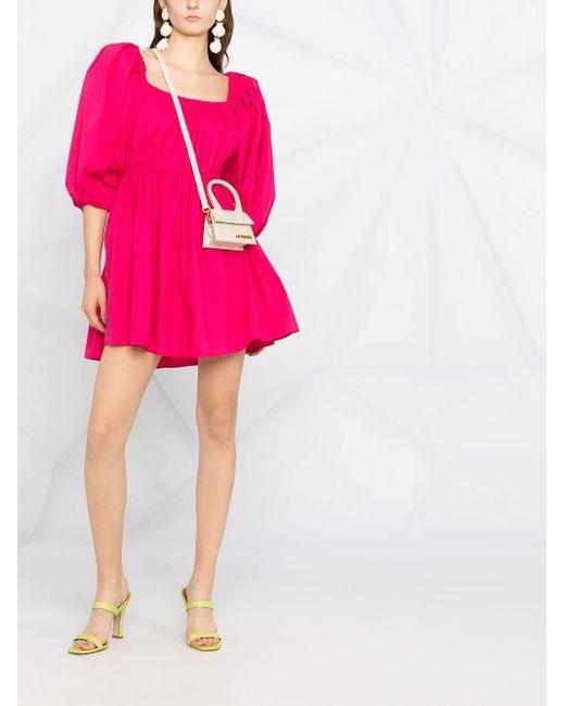 Patrizia Pepe Pink Babydoll-Kleid