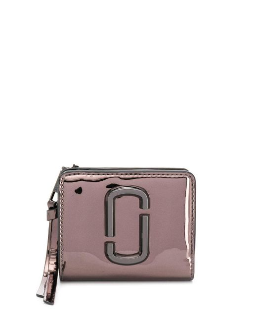 Marc Jacobs The Snapshot 財布 Brown