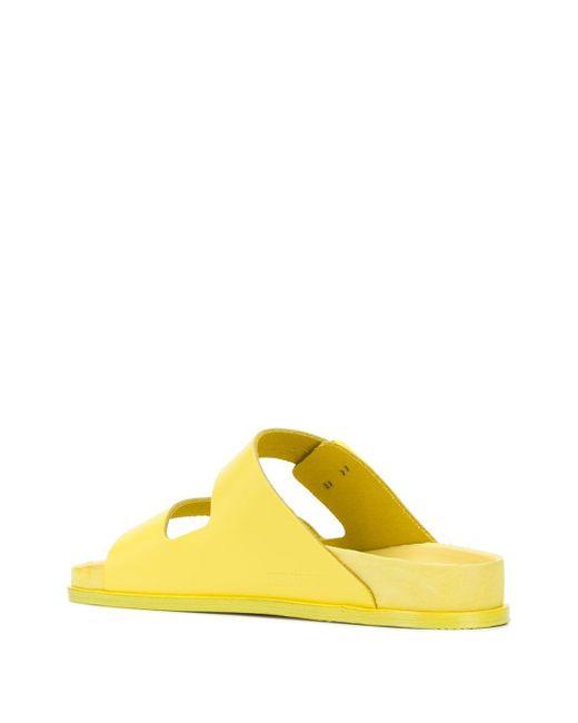 メンズ Birkenstock Premium サンダル Yellow