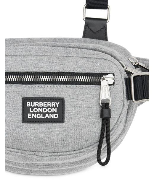 メンズ Burberry ベルトバッグ Gray