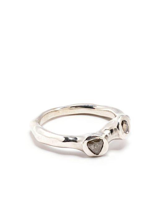 Кольцо С Кристаллами Rosa Maria, цвет: Metallic