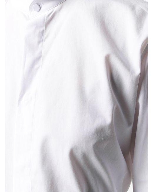 Haider Ackermann スタンドカラー シャツ White