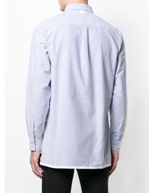 Natural Selection 'Long Pocket' Hemd in Gray für Herren