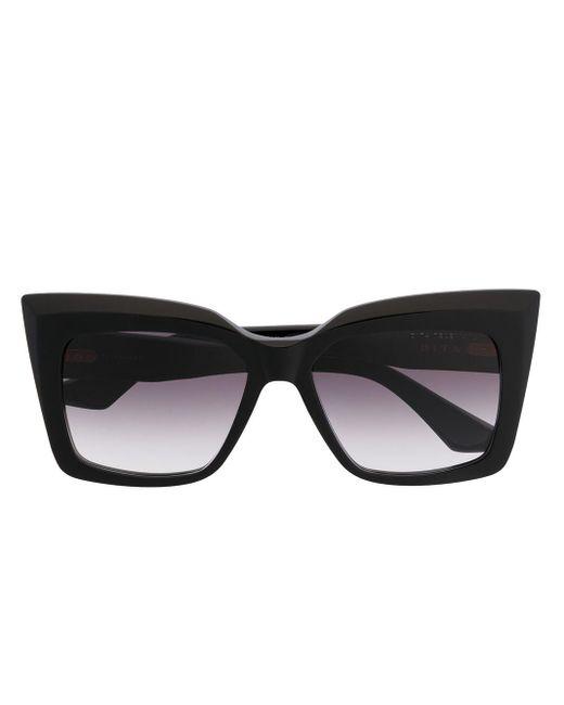 Occhiali da sole squadrati di Dita Eyewear in Black