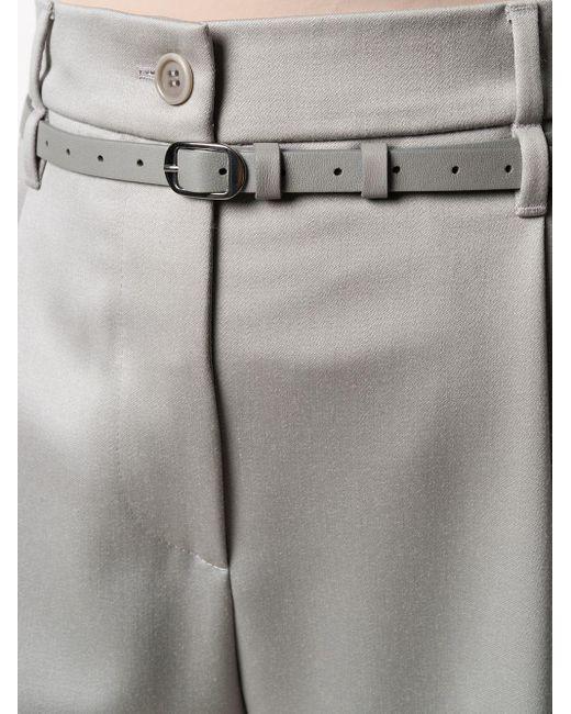 Брюки С Завышенной Талией Giorgio Armani, цвет: Gray