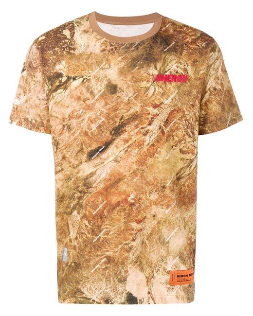メンズ Heron Preston カモフラージュ Tシャツ Multicolor