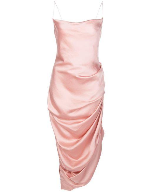 Jonathan Simkhai シャーリング ドレス Pink