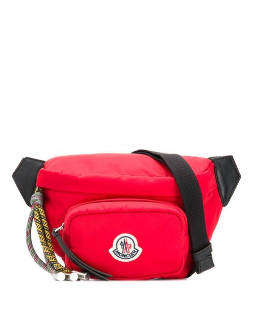 Moncler Felicie ナイロンベルトバッグ Red