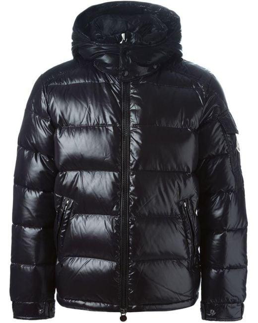 Moncler - Black 'maya' Padded Jacket for Men - Lyst