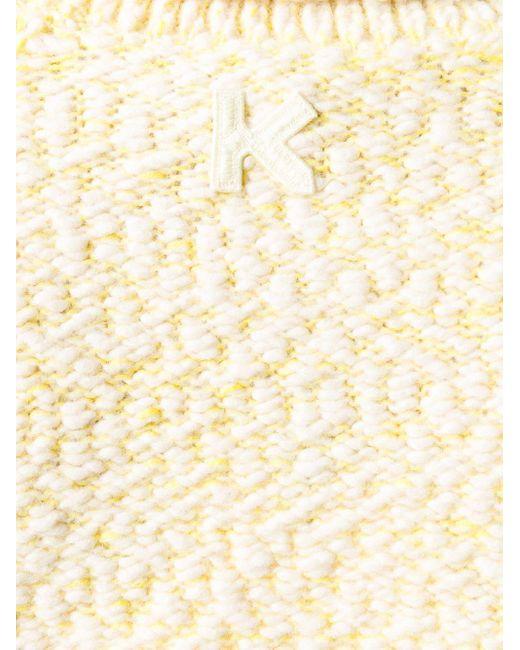 KENZO タートルネック セーター Yellow