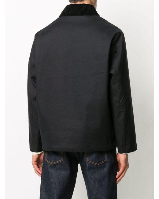 メンズ Mackintosh ボタン ジャケット Black