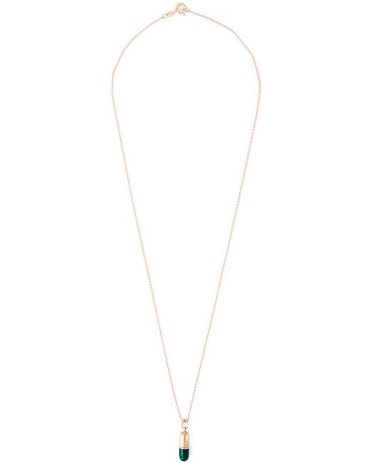 True Rocks | Green Small Pill Pendant Necklace | Lyst