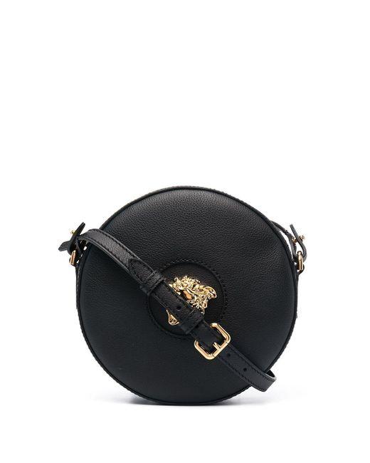 Versace メデューサ ショルダーバッグ Black