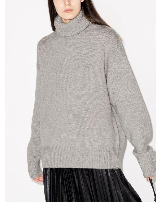 Extreme Cashmere オーバーサイズ カシミアセーター Gray
