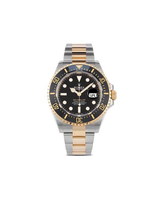 Наручные Часы Sea-dweller Pre-owned 43 Мм 2020-го Года Rolex для него, цвет: Black