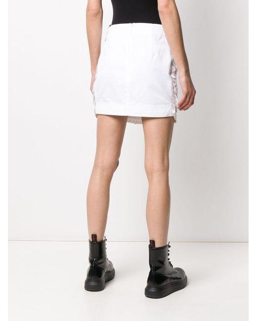 Dondup スパンコール ミニスカート White