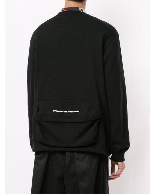 メンズ Undercover ロングスリーブ セーター Black