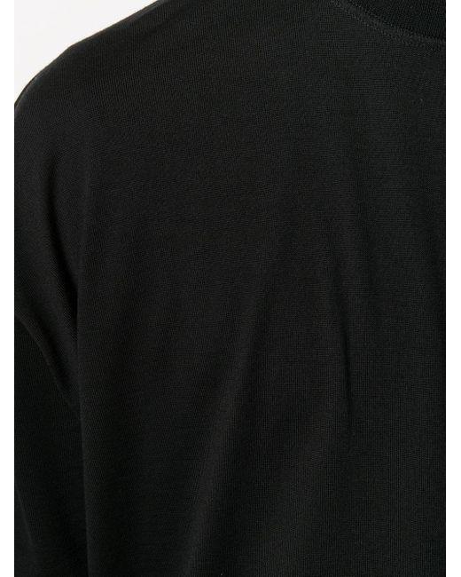 メンズ Jil Sander オーバーサイズ Tシャツ Black