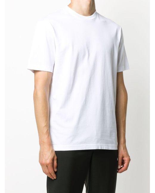 メンズ Acne ラウンドネック Tシャツ White