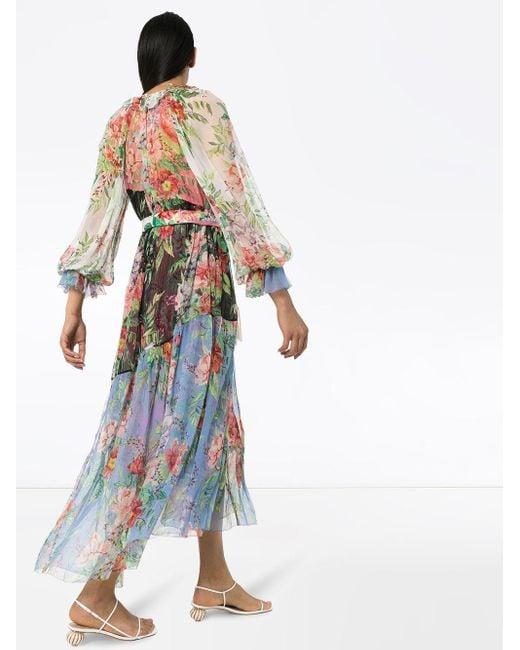 Zimmermann Bellistude フローラル マキシドレス Multicolor