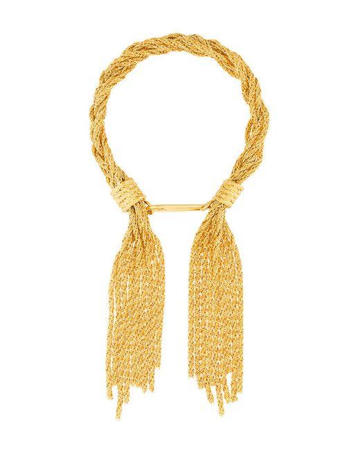 Aurelie Bidermann | Metallic Rope Bracelet | Lyst