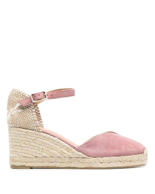 Туфли Chiarita На Танкетке Castaner, цвет: Pink