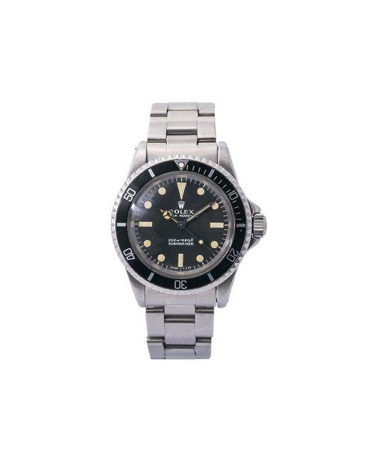 Montre Submariner 40 mm pre-owned (années 1960) Rolex pour homme en coloris Black