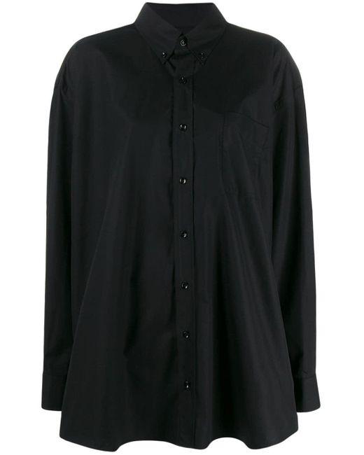Maison Margiela オーバーサイズ シャツ Black