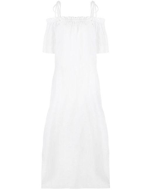 Venroy オフショルダー ドレス White