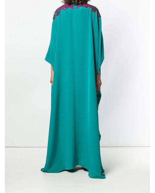 Embellished Kaftan Dress Emilio Pucci, цвет: Green