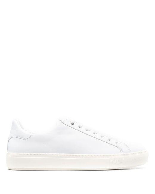 Canali Sneakers mit Schnürung in White für Herren