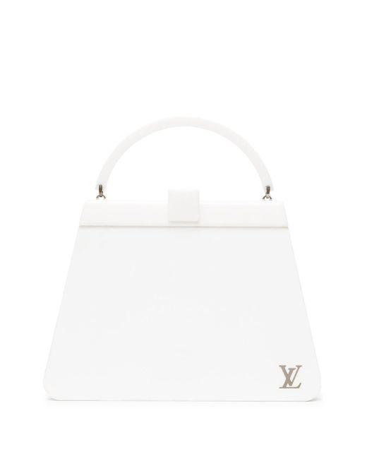 Louis Vuitton プレオウンド ナイト クラバー ハンドバッグ White