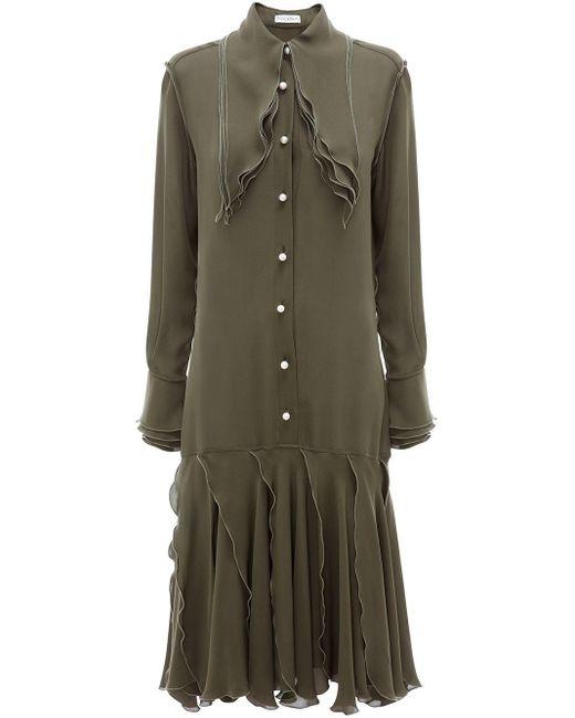 J.W. Anderson レイヤード ドレス Multicolor
