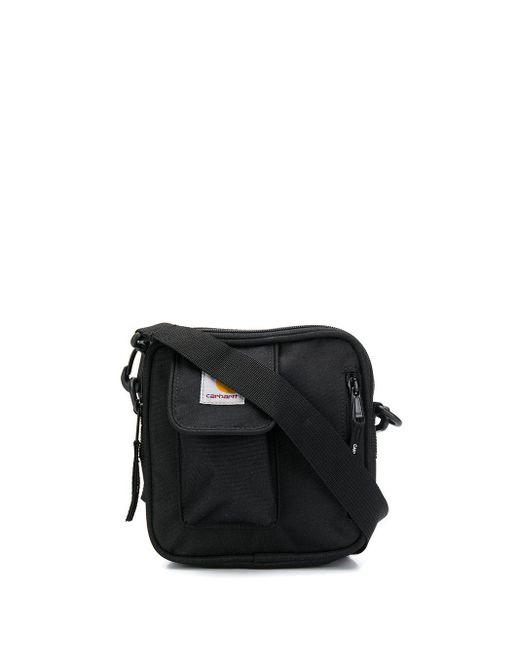 Маленькая Сумка-мессенджер Essentials Minimum Carhartt WIP для него, цвет: Black