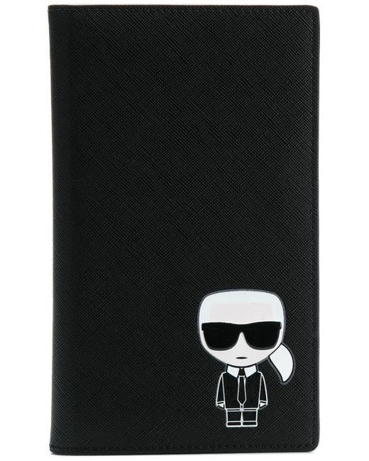 Конверт Для Документов 'k/ikonik' Karl Lagerfeld, цвет: Black