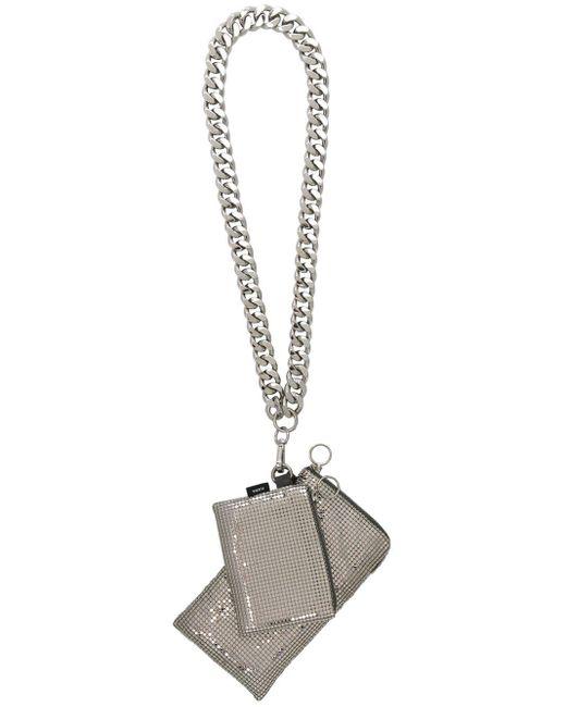 Kara チェーン 財布 Metallic