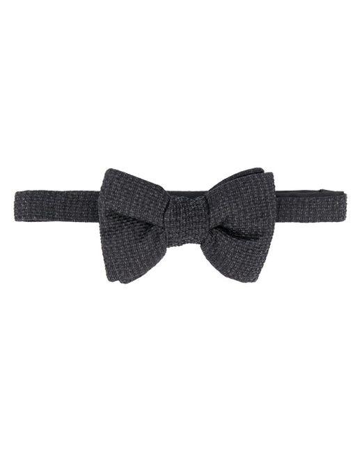 メンズ Tom Ford Textured-finish Bow Tie Black