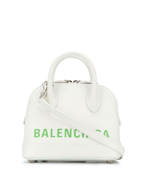 Balenciaga ヴィル Aj トートバッグ Xxs White