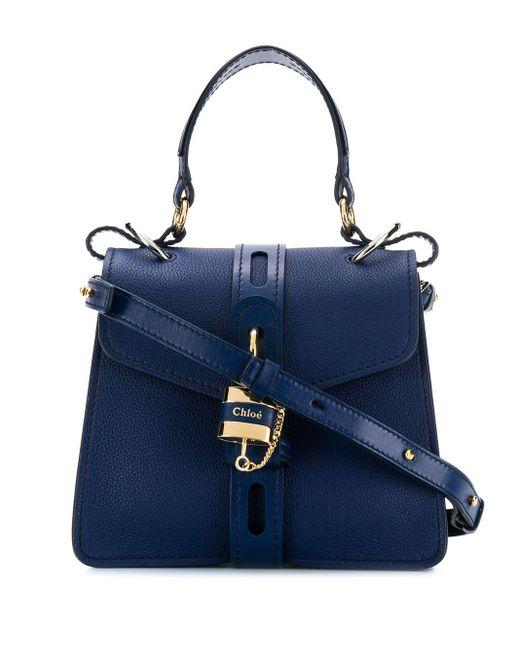 Chloé Aby Kleine Tas in het Blue