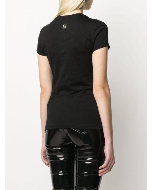 Philipp Plein デコラティブ Tシャツ Black